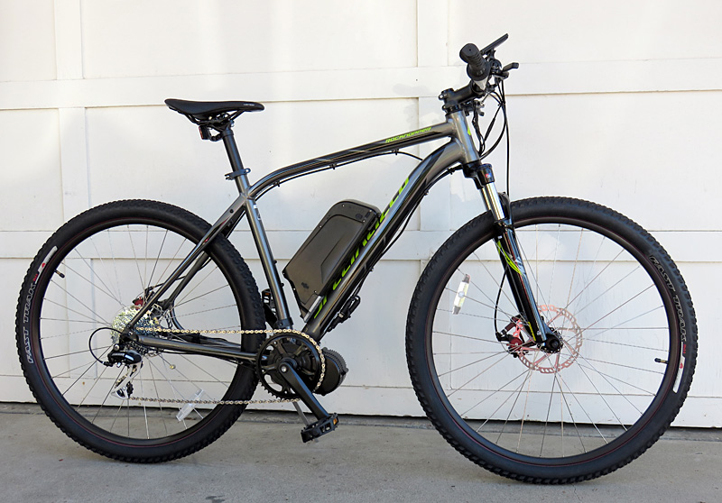 Specialized Rock Hopper with BBS02 and 48v lithium battery Mid-drive