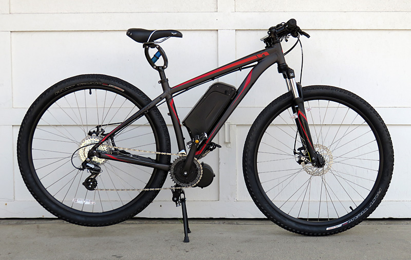 Specialized Hard Rock with BBS02 and 48v lithium battery Mid-drive