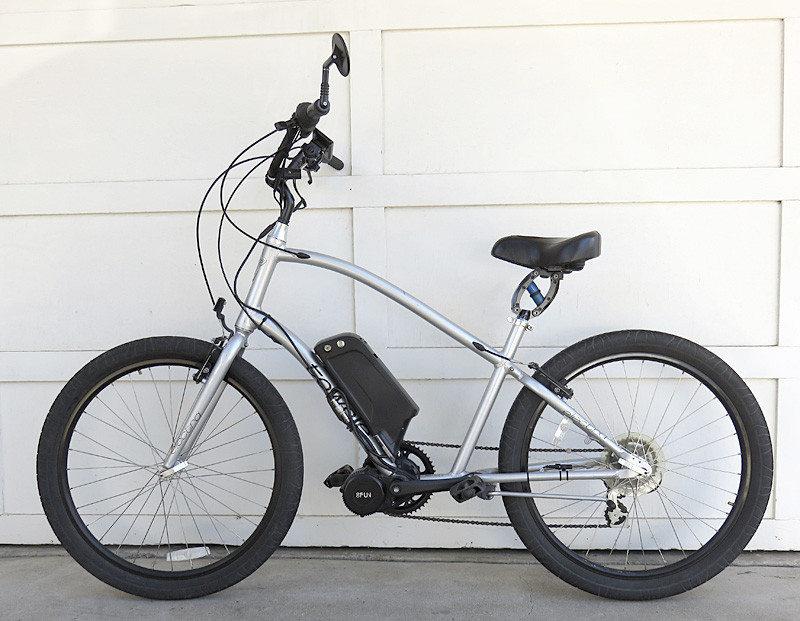 Electra Townie with BBS02 and 48v lithium battery Mid-drive